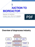 Introduction to Bioreactor