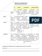 Rúbrica Base de Expresión Oral 5º Noticia