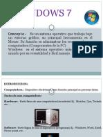 Clases de Windows Seven