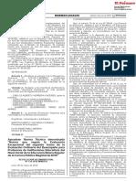 Aprueban Norma Técnica Denominada Norma Que Regula La Evaluación Excepcional Del II Tramo de La Evaluación Ordinaria Del Desempeño Para Profesores de IIEE Del Nivel Inicial de La EBR de La CPM