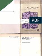Paul Valery. El senñor Teste.pdf
