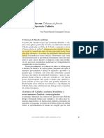 CALLADO, Antonio. Fato e Ficção