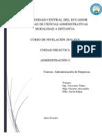 Unidad Didactica ADM. 0 AE