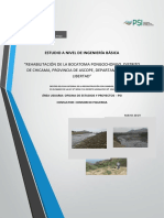 Canal PONGOCHONGO-Planteamiento Hidraulico