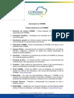 Procedimento de Associação CONIMA 2018