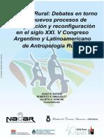 E-Book - El Mundo Rural Debates Debates en torno a los nuevos procesos de configuración y reconfiguración en el siglo XXI