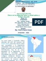 N°9       Efecto de plaguicidas sobre la calidad química y biológica del suelo