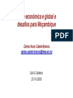 Crise Em Mocambique