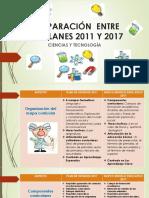 Comparación Entre Los Planes 2011 y 2017