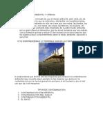 Contaminaciòn Ambiental y Urbana