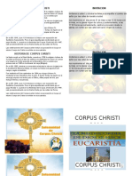 Historia de Corpus Christi