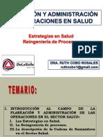 3a Sesión PyAOS Estrategias y Reingeniería de Procesos en Salud