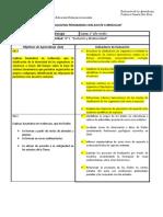 Matriz Evaluativa Biologia 1 Medio.