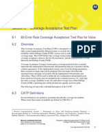 Coverage Acceptance Test Plan
