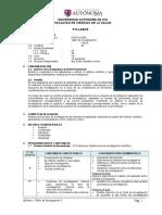 14a28 - Syllabus Taller de Investigacion i Gral