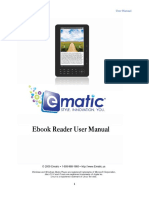 Ematic eBook Reader 12