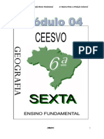 Apostila Ensino Fundamental  CEESVO - Geografia - Módulo 04