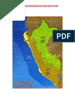 Las Regiones Naturales Del Perú Son Cuatro