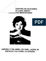 2008 Encuentro Anido Guitarra Montevideo