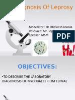 Lab Daignosis Leprosy