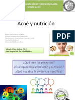 Acné y Nutrición