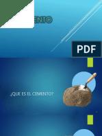 7- El Cemento
