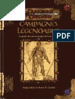 [D&D][FR] Campagnes Légendaires