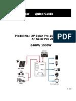 Solar Pro Quick guide