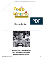 Metropolis Man a free play script for three actors (1 f 2 m) about searching for the love of a super man.pdf