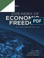 Economic Freedom Index 2019