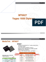Mt6627 and Yageo 1608 Diplexer