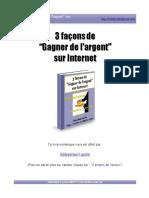 Differentes manieres de gagner de l'argent sur internet.pdf