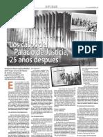 Los casos del Palacio de Justicia, 25 años después