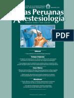 Actas Peru Anestesiol Vol 22 Num 1 2017