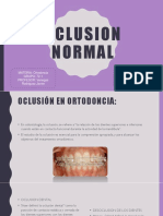Oclusion Normal