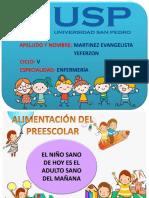 Alimentación Preescolar y Escolar NUEVO