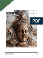 Devi Mahatmyam Text (Sanskrit - Easy Read Version for Homam)