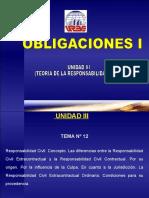 Unidad III Teoria de La Responsabilidad Civil