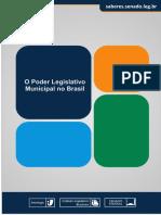 Instituto Legislativo Brasuleiro (ILB) - O Poder Legislativo Municipal No Brasil