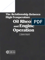 DS62 - (1985) the Relationship Between High-Temperature Oil Rheology and Engine Operation