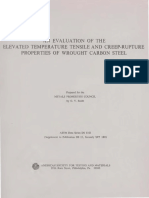 DS11S1 - (1970) An Evaluation of the Elevated Temperature Tensile and Creep-Rupture Properties of Wrought Carbon Steel.pdf