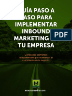 Guia Paso a Paso Para Implementar Inbound Marketing en Empresa