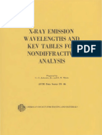 DS46 - (1970) X-Ray Emission Wavelengths and Kev Tables for Nondiffractive Analysis.pdf