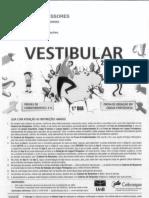 Gabarito preliminar_Vestibular UnB