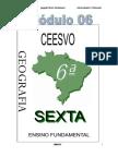Apostila Ensino Fundamental  CEESVO - Geografia - Módulo 06