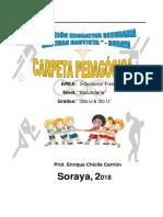 Pca y Unidades Educacion Fisica Soraya 2019