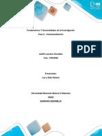 Fundamentos Y Generalidades de La Investigación Fase 2