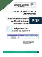 Manual de Prácticas de Control de Motores I (UNIDAD II)