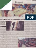 La biblioteca como lugar de memoria, Mario Rommel Arce Espinoza