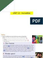 Unit 12 Preintermediate